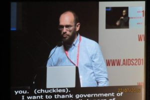 Gennady Roshchupkin Speaks at AIDS 2016 Conference Closing Ceremony
