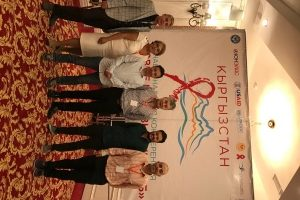 ECOM representatives are participating in the National HIV/TB Conference in Kyrgyzstan
