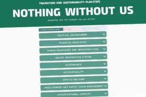 Ничего без нас: веб-инструмент и информационная записка для оценки и мониторинга реализации Плана Переходного Периода в Грузии