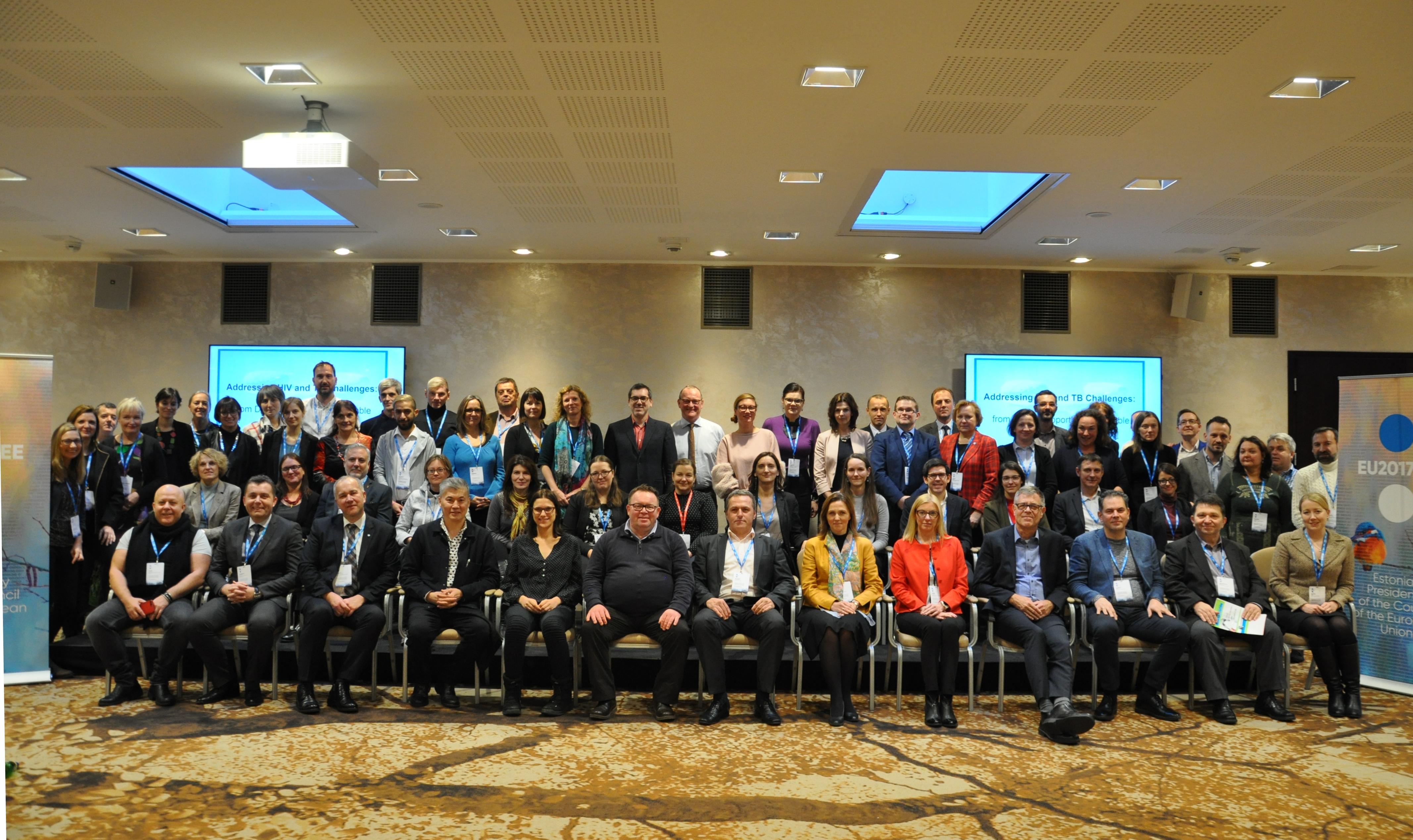 международная встреча, посвященная финансированию программ и услуг по борьбе с распространением ВИЧ и туберкулеза.