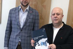 Вопросы профилактики ВИЧ в Эстонии обсудили на встрече с Министром здоровья и труда