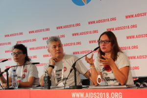 "Vitaly Djuma, ""21% of all HIV cases in the EECA region are registered particularly among MSM"""