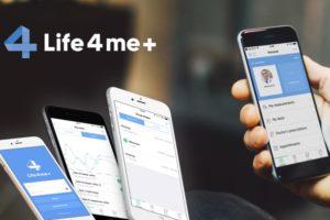 У приложения Life4me+появилась новая версия