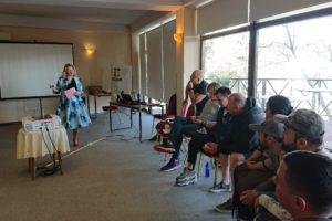 Community leaders learned to promote MSMIT international manual