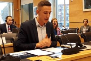 ECOM presented report on HIV among MSM in Estonia to UN Human Rights Committee in Geneva