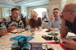 ActivEast team discussed regional and national media campaigns for gay and other MSM and trans people