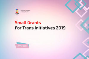 Call for Proposals: Small Grants for Trans Initiatives 2019