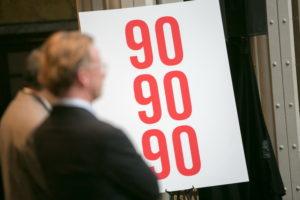Беларусь приближается к цели 90-90-90